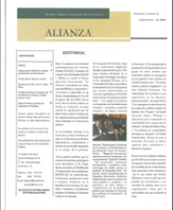 Boletín Alianza No. 8